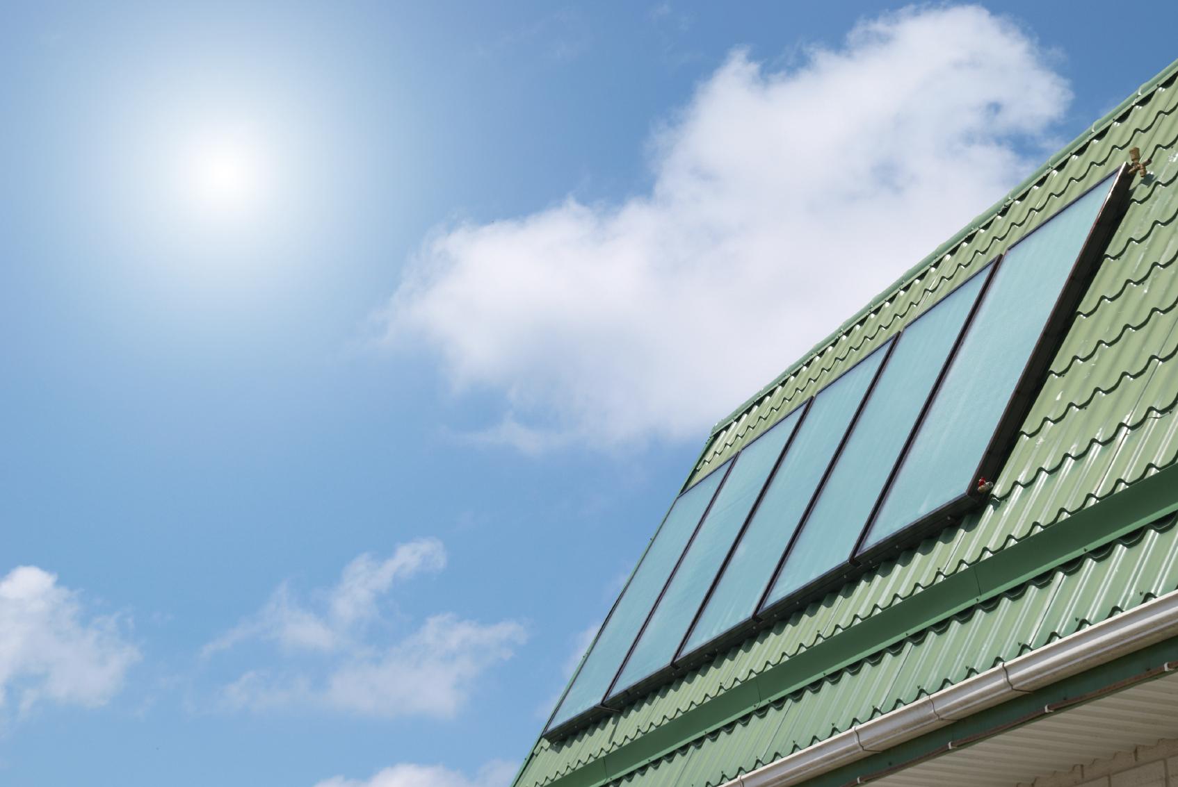 Capteur solaire thermique - Solvari