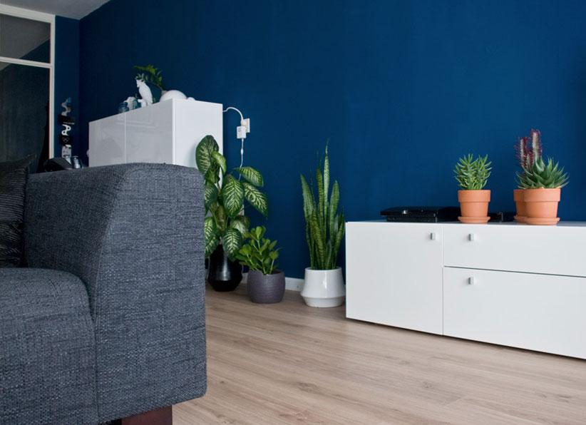 Trendkleur Diep Blauw : Kleurtrends voor in huis: zo gebruikt u ze!