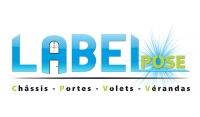 Menuiserie LABEL pose logo